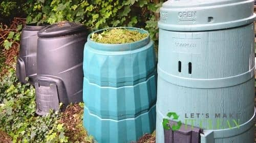 Compost Bin With Air Holes