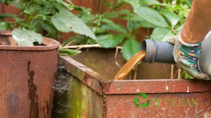 Emptying A Composting Toilet